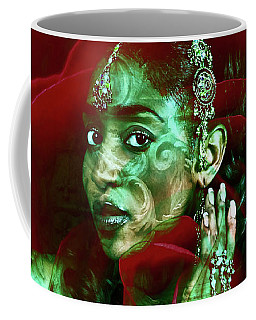 Baroque Meets Oriental Rose Coffee Mug