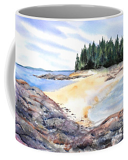 Barred Island Sandbar Coffee Mug