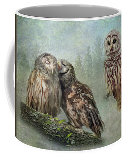 Barred Owls - Steal A Kiss Coffee Mug