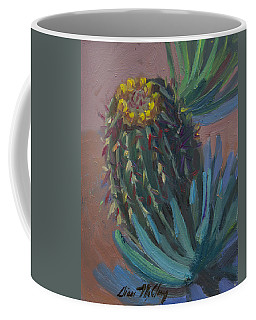 Barrel Cactus In Bloom - Boyce Thompson Arboretum Coffee Mug
