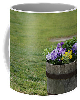 Barrel Of Flowers Coffee Mug