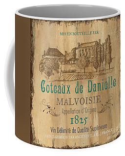 Barrel Wine Label 2 Coffee Mug