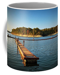 Barren River Lake Dock Coffee Mug