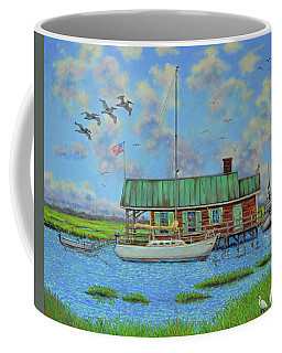 Barriar Island Boathouse Coffee Mug