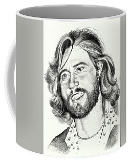 Barry Gibb Portrait Coffee Mug