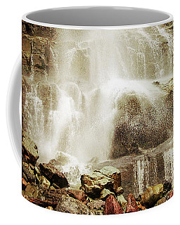 Base Of Cascade Falls Coffee Mug by Krista-