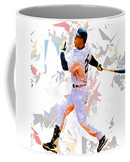 Coffee Mug featuring the painting Baseball 25 by Movie Poster Prints