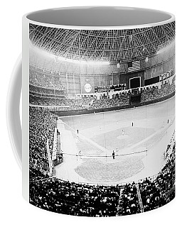 Coffee Mug featuring the photograph Baseball: Astrodome, 1965 by Granger