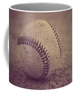 Baseball In Sepia Coffee Mug