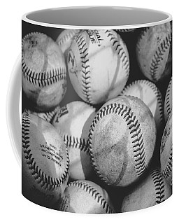 Baseballs In Black And White Coffee Mug