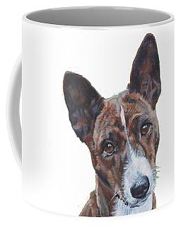 Basenji Dog Painting Coffee Mug