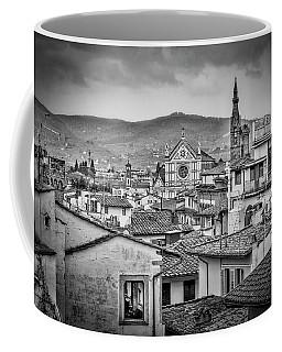 Basilica Di Santa Croce Coffee Mug by Sonny Marcyan