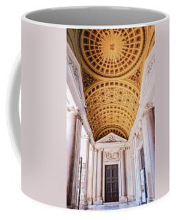 Coffee Mug featuring the photograph Basilica Of Santa Maria Maggiore Rome II by Joan Carroll