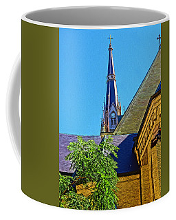 Basilica Of The Sacred Heart Notre Dame Coffee Mug by Dan Sproul