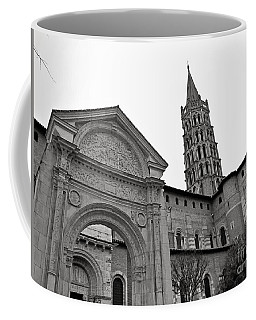 Basilique St Sernin In Toulouse Coffee Mug by Cendrine Marrouat