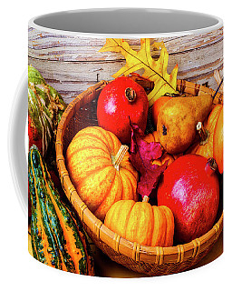 Basket Full Of Autumn Coffee Mug