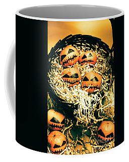 Basket Of Little Halloween Horrors Coffee Mug