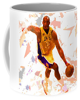 Coffee Mug featuring the painting Basketball 24 A by Movie Poster Prints