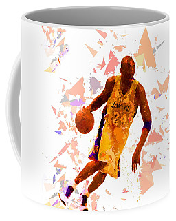 Coffee Mug featuring the painting Basketball 24 by Movie Poster Prints