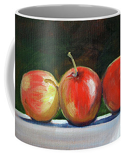 Basking Apples Coffee Mug