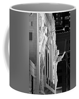 Bass Hall Fort Worth 520 Bw Coffee Mug
