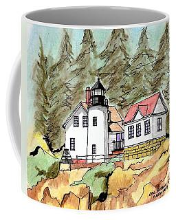 Bass Harbor Head Light Coffee Mug