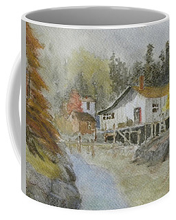 Bass Harbor Retreat Coffee Mug