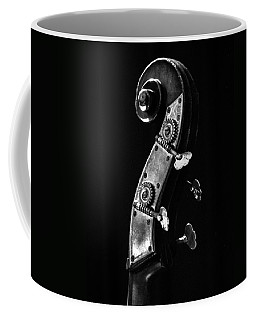 Coffee Mug featuring the photograph Bass Violin by Julia Wilcox