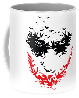 Bat Face Coffee Mug
