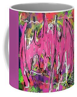 Bat Symbol - Joker Style Coffee Mug by Jason Nicholas