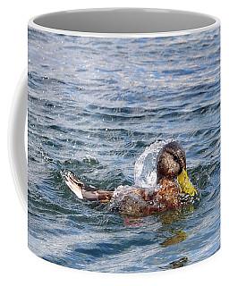 Bath Time Coffee Mug by Glenn Gordon