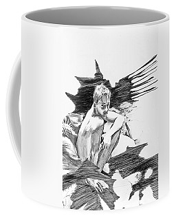 Bathed In White Light Coffee Mug