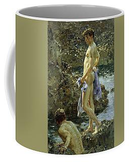 Bathing Group Of 1914 Coffee Mug