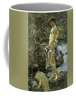 Bathing Group Of 1914 Coffee Mug
