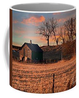 Bathing In The Sunset Coffee Mug by Kathy M Krause