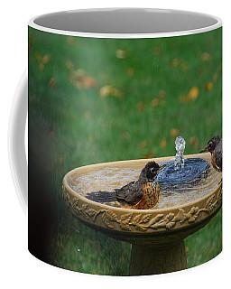 Bathtime In The Front Yard Coffee Mug