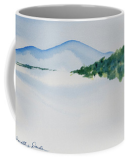 Bathurst Harbour Reflections Coffee Mug