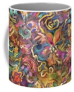 Batik Colorburst Coffee Mug