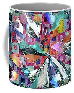 Batik Overlay Coffee Mug