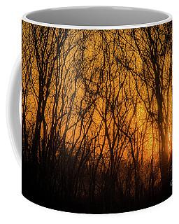 Coffee Mug featuring the photograph Batik Sunset by Cheryl McClure