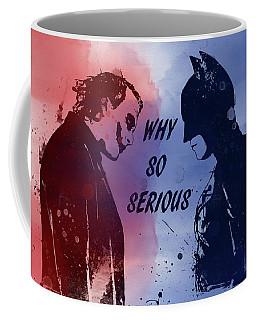 Batman And Joker Coffee Mug