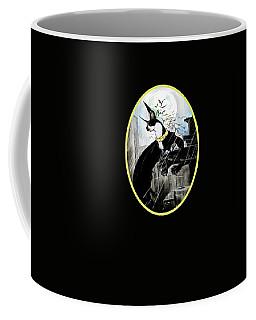 Batman Boston Terrier Caricature Art Print Coffee Mug