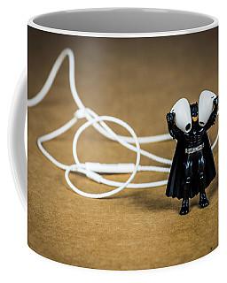 Batman Likes Music Too Coffee Mug