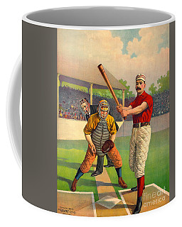 Batter Up 1895 Coffee Mug