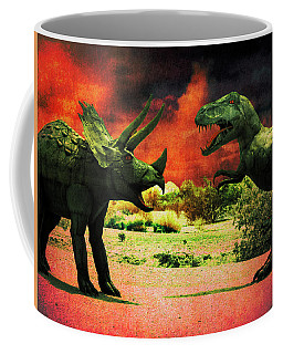 Battle At Gila Bend Coffee Mug