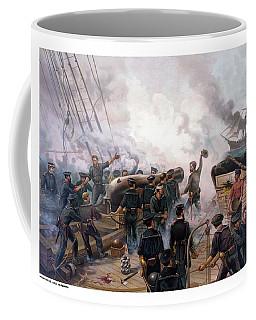 Battle Between Kearsarge And Alabama Coffee Mug