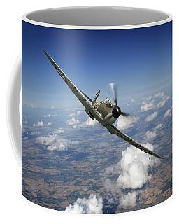 Battle Of Britain Spitfire Mk I Coffee Mug
