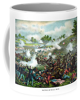 Battle Of Bull Run Coffee Mug
