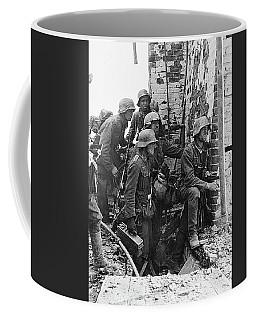 Battle Of Stalingrad  Nazi Infantry Street Fighting 1942 Coffee Mug