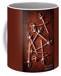 Battle Of Swords Coffee Mug